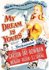 My Dream Is Yours 1949 DVD - Jack Carson / Doris Day